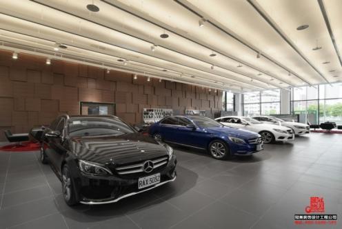 台湾高雄Benz展厅