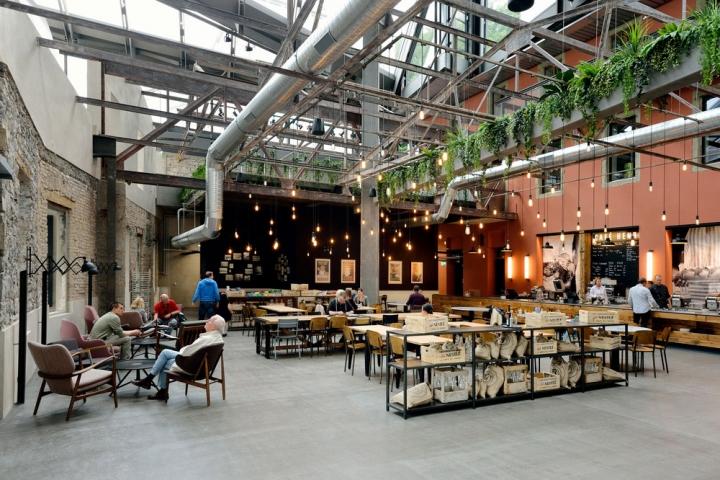 雀巢公司150周年展厅设计