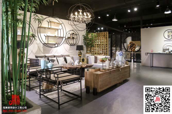 新中式陶瓷树脂展厅