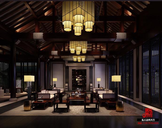 中式休闲会所